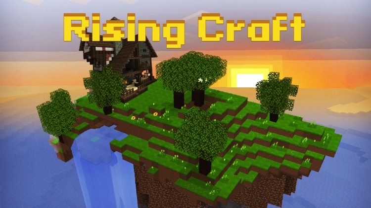 Rising Craft - A Game for Sandbox Building