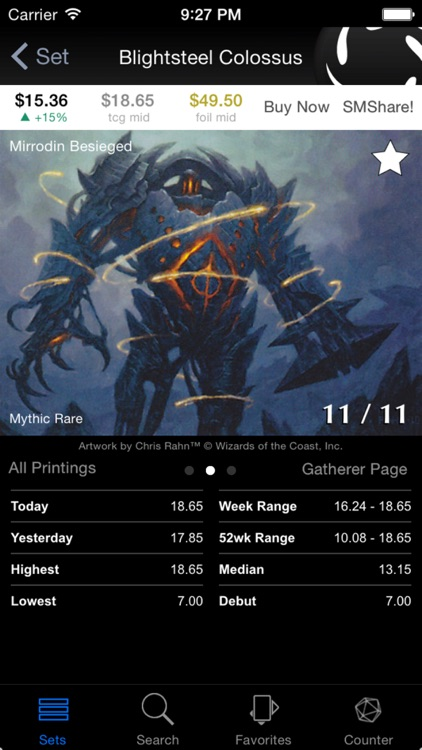 EchoMTG: Prices & Tools for Magic the Gathering screenshot-0