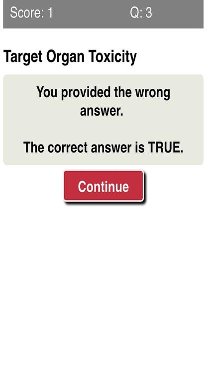 Toxicology & Poisonous Substances Quiz screenshot-4