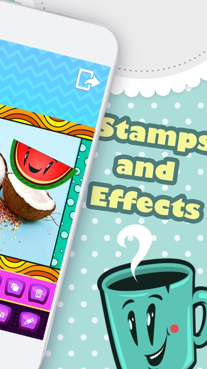Kawaii Photo Stickers Studio – Cute Camera Edit.or with Text on Pic Effects for Picture.s