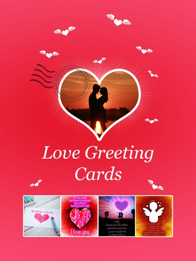 love greeting cards pics with quotes to say i love you をapp storeで