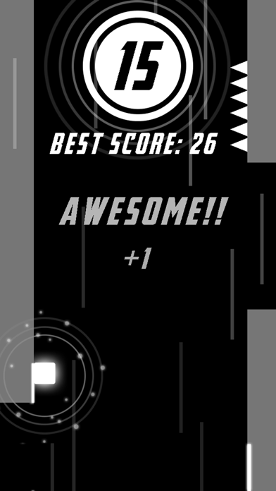 These Crazy Walls 2 -- One Finger Fast Pace Mini Game,More Color,More Fun! screenshot four