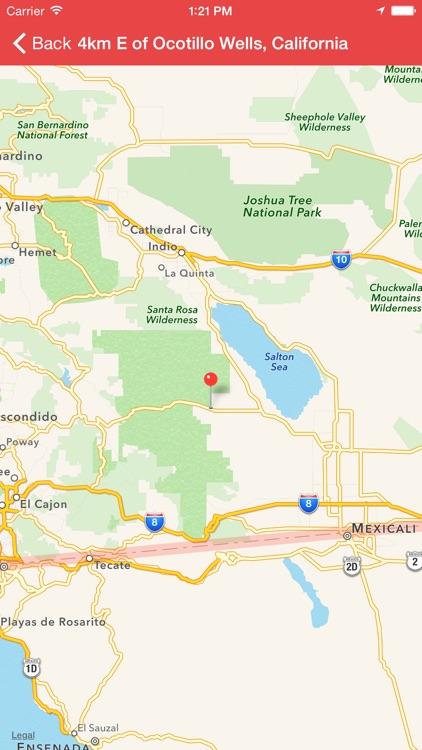 My Earthquake Alerts - US & Worldwide Earthquakes screenshot-3