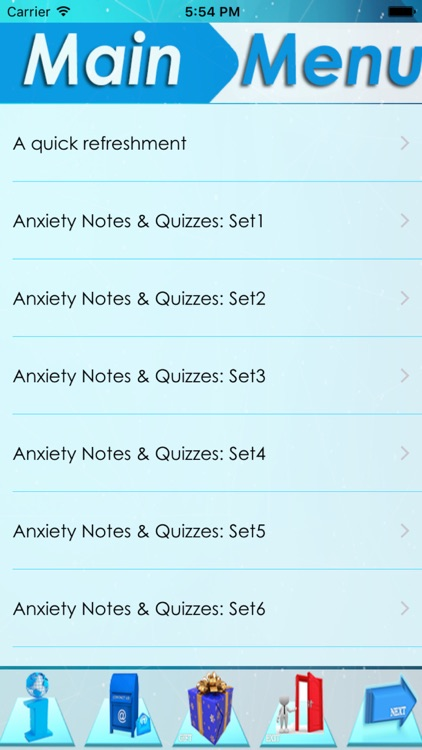 Anxiety Types, Symptomes & Medication: 2000 notes & quiz screenshot-3