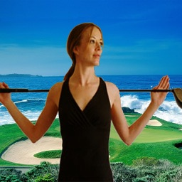 Posture On the Tee (Golf) By Myriah Lynn