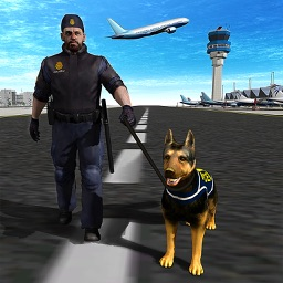 Police Dog Airport Chase Simulator – 3D Criminal Chase Simulation Game
