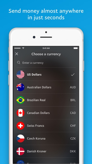 PayPal Cash Wallet: Send Money screenshot