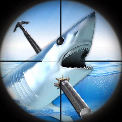 большой белый Акула Охотники : Синий Море Копье Рыбалка Приключение FREE