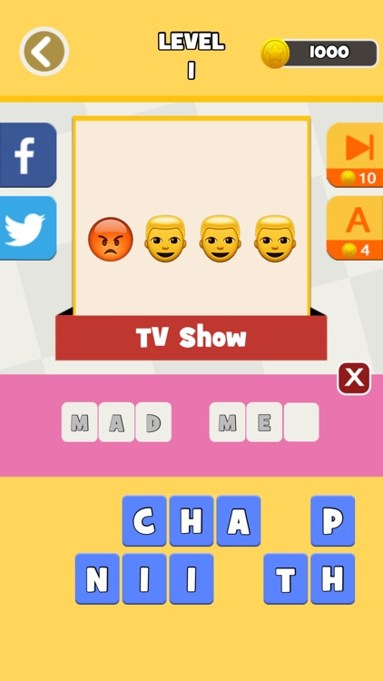 QuizPop Mania! Guess the Emoji Movies and TV Shows - a free word guessing quiz game screenshot-0