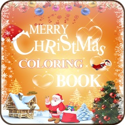 Christmas Coloring Book - Colouring Doodle Fun for Kids Holiday Season