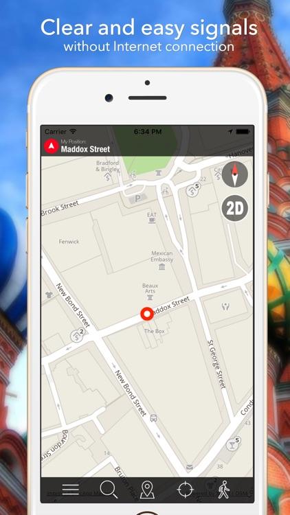 Washington DC Offline Map Navigator and Guide screenshot-4