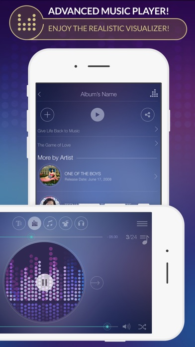 Spoty EQLZR - stream music player with equalizer and lyric search for  Spotify premium | App Price Drops