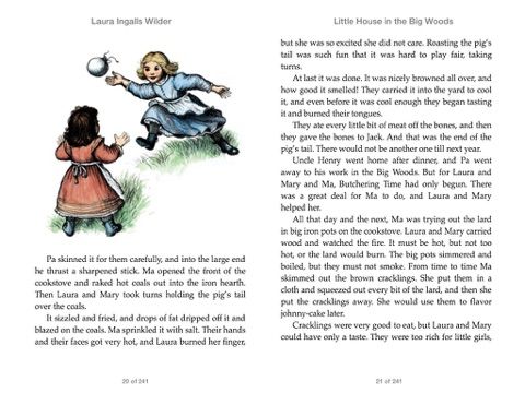 Little House in the Big Woods by Laura Ingalls Wilder on iBooks