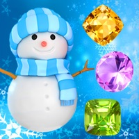 Snowman Games and Christmas Puzzles - Match snow and frozen jewel for this holiday countdown free Moves and Lives hack