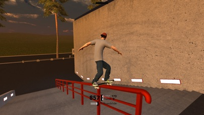 Screenshot from MyTP Freeskiing 3