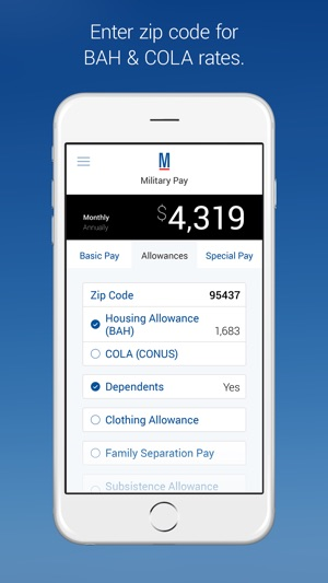 Military Pay by Military com on the App Store