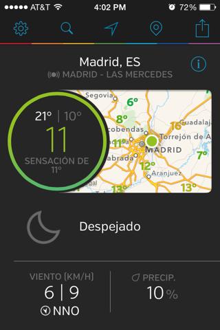 Weather Underground: Forecast screenshot 1