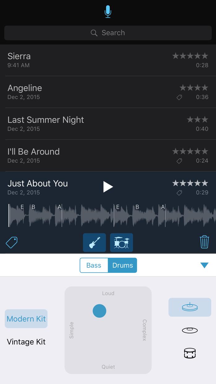 Music Memos Screenshot