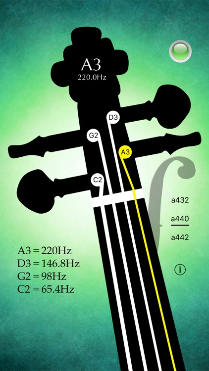 Cello Tuner Pro - Strings Tuner screenshot-0
