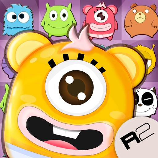 Mochi Monster Blast: Match 3 Fun iOS App