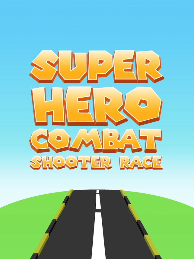 超级英雄战斗射击比赛亲 - 赛车小游戏单机跑车