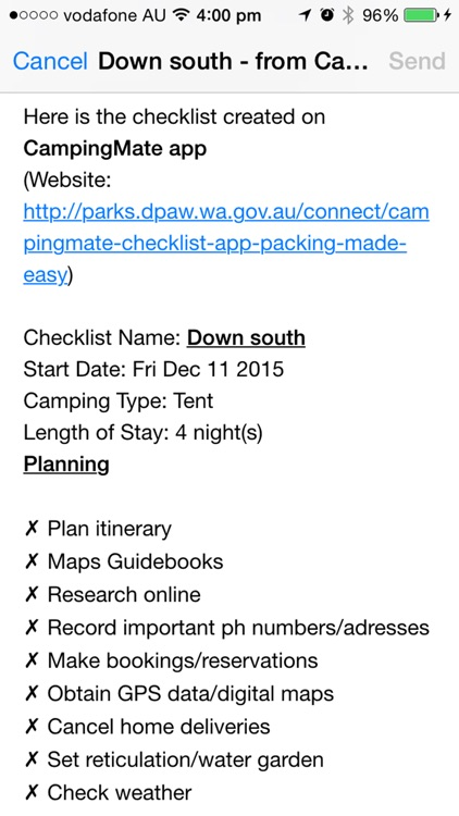 Camping Mate screenshot-3