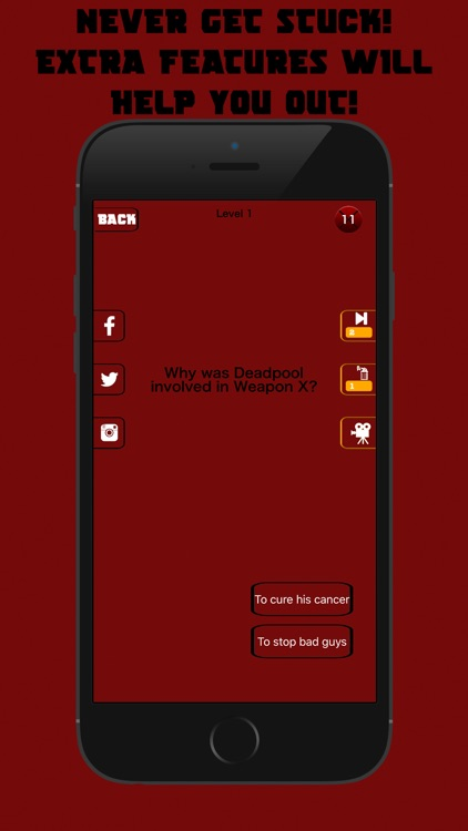 TRIVIAPOOL - Quiz Game for the real Deadpool fan