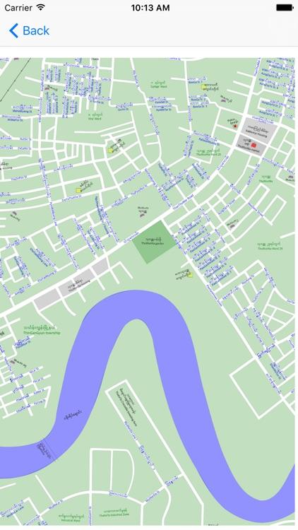 asdYangon Map 2