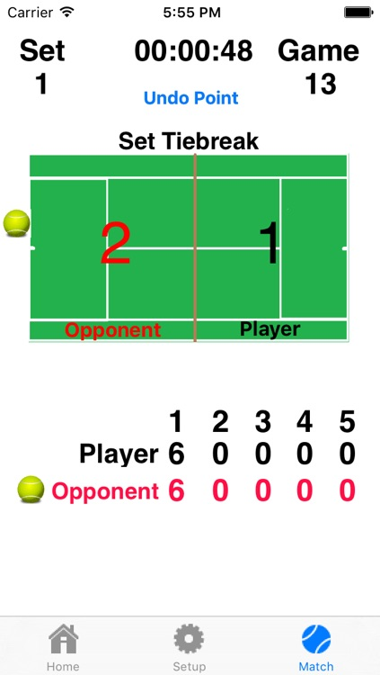 Tennis Score Addict - Keep Score And Hear The Score Without Picking Up Your Device! screenshot-3