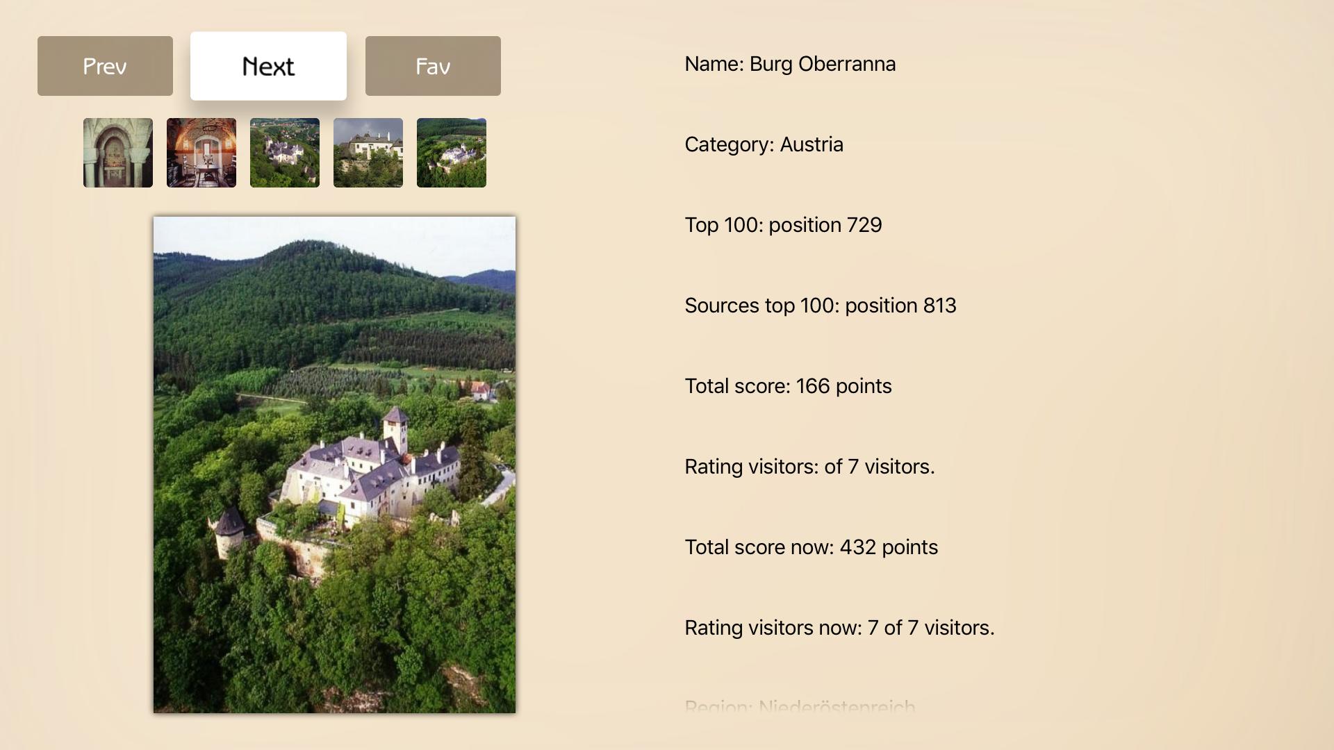 Castles Advisor screenshot 5