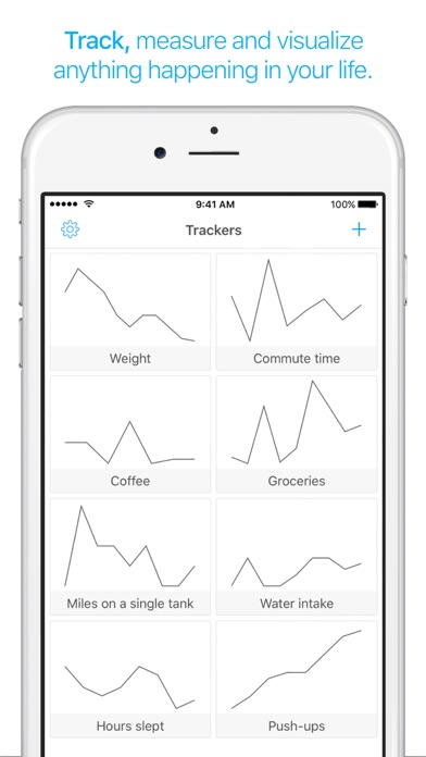Screenshots for TracKit - Track Anything