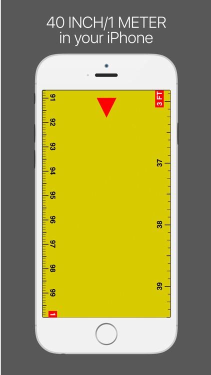 Ruler lite - tape measure length