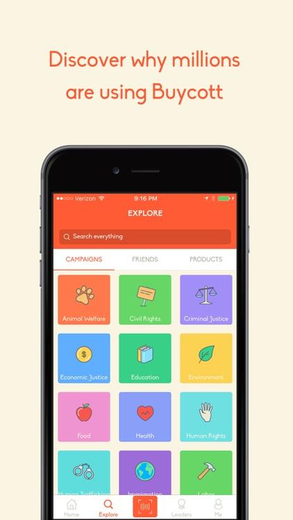 Buycott - Barcode Scanner & QR Bar Code Scanner screenshot-4