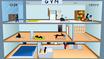 Deadly Gym - Stickman Edition screenshot two