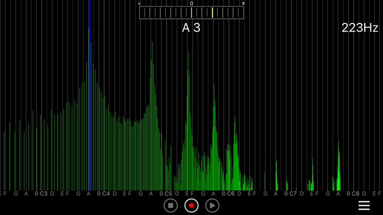 AudioSpectrumMonitor screenshot-3