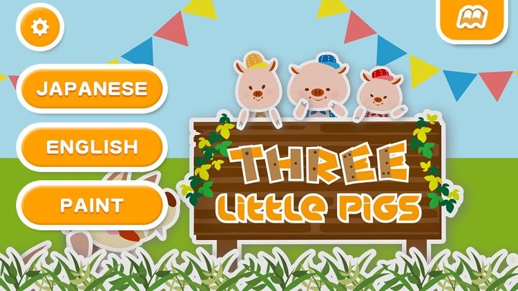 Three Little Pigs (FREE)  - Jajajajan Kids Songs & Coloring picture books series