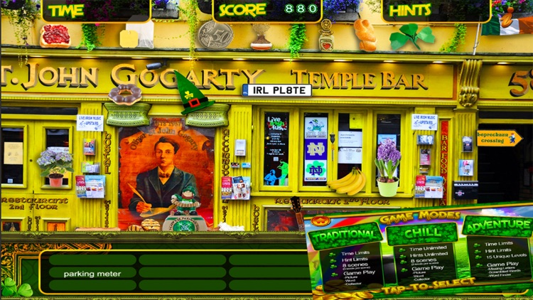 St. Patrick's Lucky Irish Day – Hidden Object Spot and Find Objects Differences Holiday Game screenshot-4