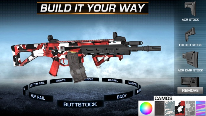 Gun Builder ELITE - Modern Weapons, Sniper & Assault Rifles Screenshot