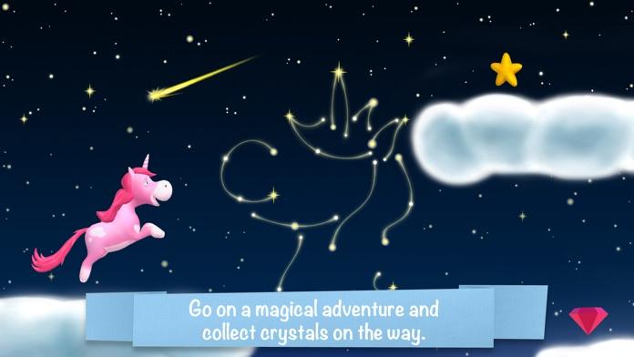 Unicorn Glitterluck - Rainbow Adventure for kids Screenshot