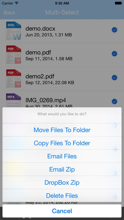 File Manager - File Explorer & Storage for iPhone, iPad and iPod screenshot-3