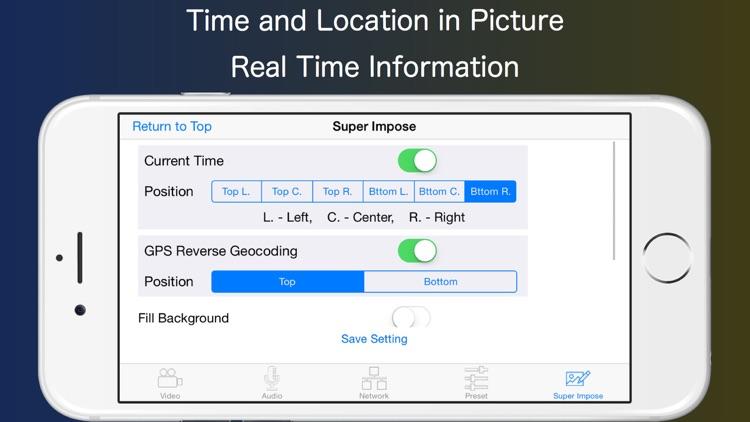 Live-Reporter+ Security Camera screenshot-4