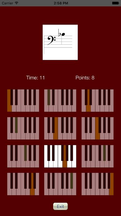 Sheet Music Trainer Piano Bassのおすすめ画像5