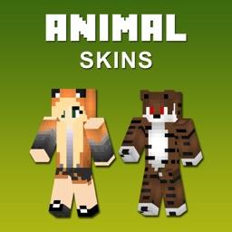 Animal Skins Lite - Best Skins for Minecraft PE & PC