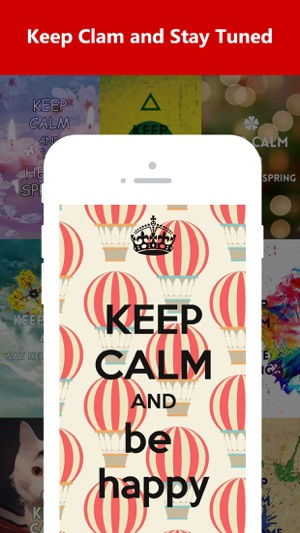 Keep Calm Wallpapers On The App Store