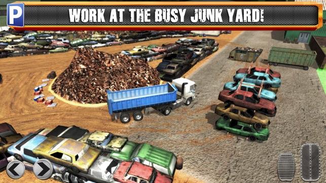 junk yard trucker parking simulator gratuit jeux de voiture de course dans l app store. Black Bedroom Furniture Sets. Home Design Ideas