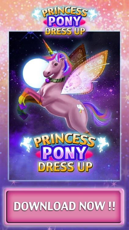 Fun Princess Pony Games - Dress Up Games for Girls screenshot-4