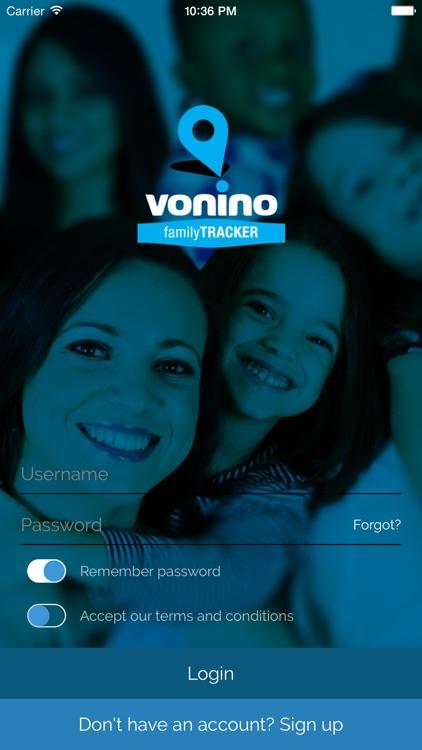Vonino Family Tracker