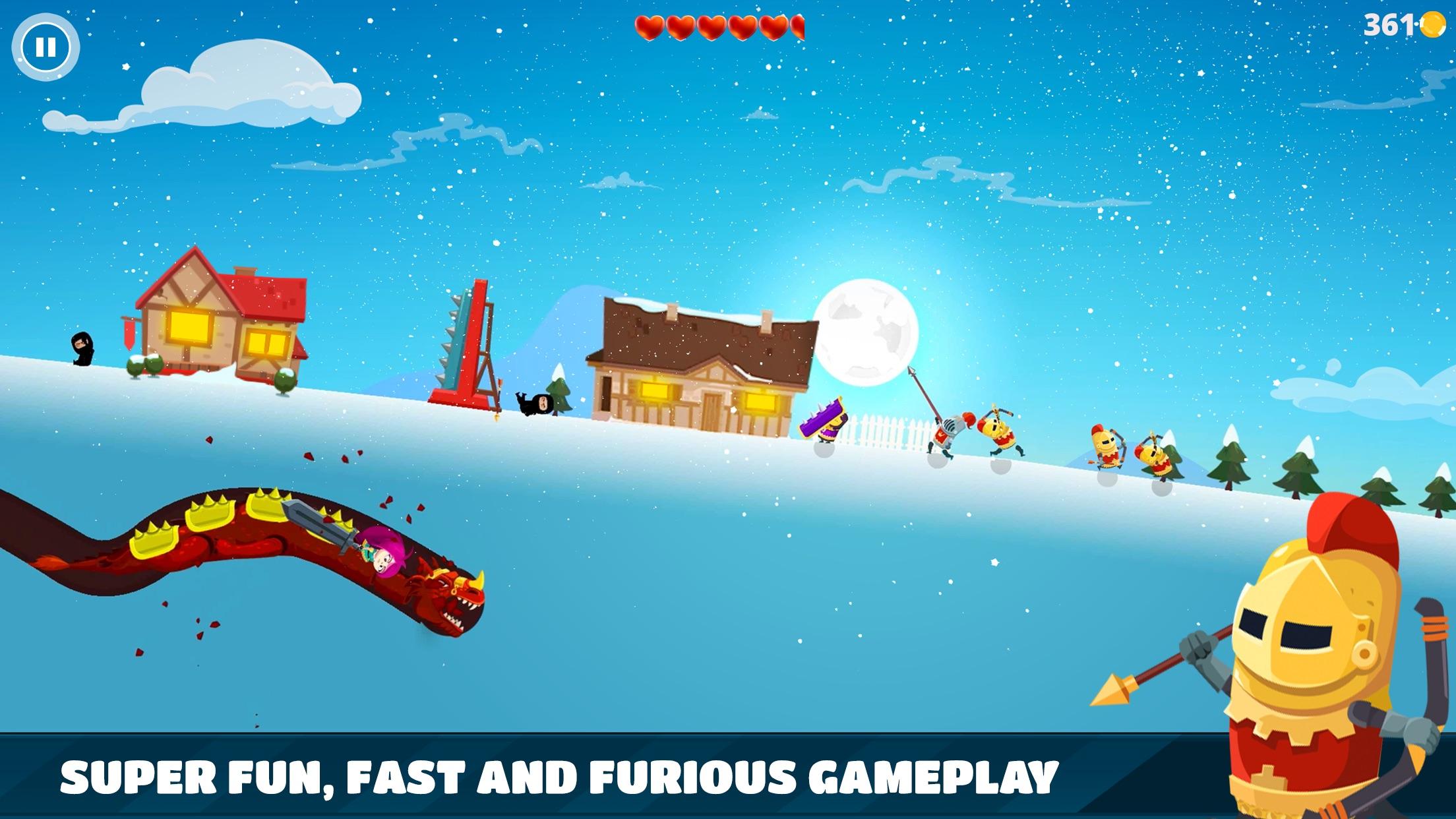 Screenshot do app Dragon Hills