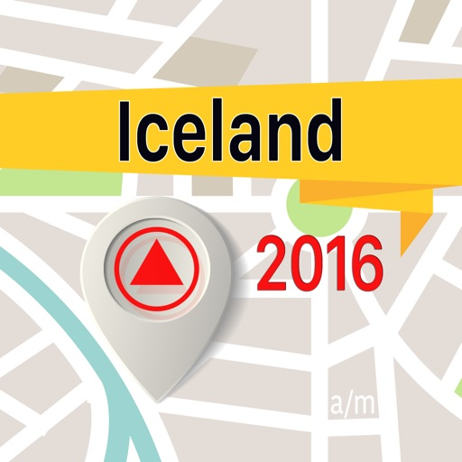 Iceland Offline Map Navigator and Guide