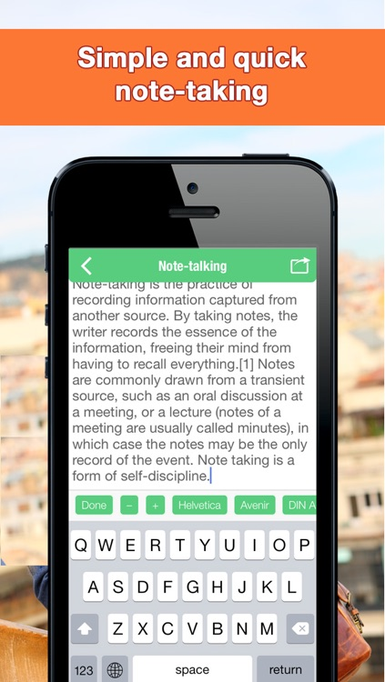 Easy Notes – Perfect Tool for Note Taking, Writing and Journaling